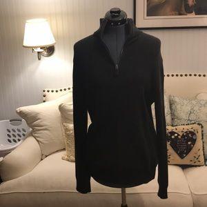 JCrew black pullover